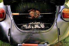grill ścigał zdjęcie stock