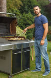Grill cooking Royalty Free Stock Photos