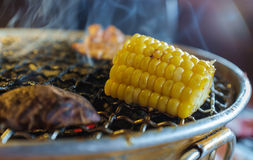 Grill Corn Stock Photography