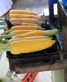 Grill corns Stock Photos
