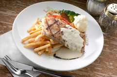 Grill dory fish fillet Stock Image