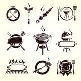 Grill elements set. Vector. Illustration vector illustration