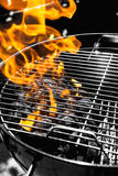 Grill fire Royalty Free Stock Photos