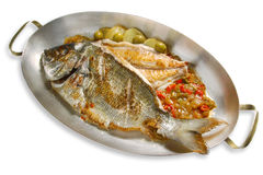 Grill fish Royalty Free Stock Photos