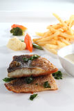 Grill fish Royalty Free Stock Image