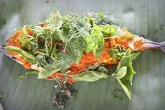 Grill Fish - Ikan Bakar Royalty Free Stock Images