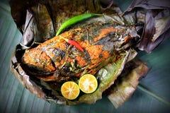 Grill Fish - Ikan Bakar Royalty Free Stock Photo