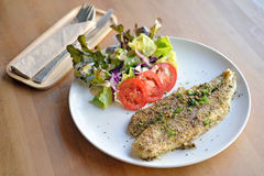 Grill Fish Stock Photography