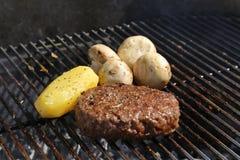 Grill-Fleisch - 03 Stockfoto