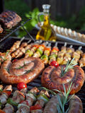 Grill food Stock Photography