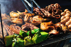 Grill foods Stock Photos