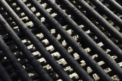 Grill Grate Pattern Royalty Free Stock Photo