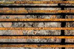 Grill grate with rust Royalty Free Stock Photo
