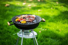 Grill. Ing bbq garden summer backyard coal stock photos
