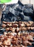 Grill i węgle Fotografia Stock