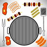 Grill Icon Royalty Free Stock Photos
