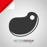 Grill icon design Royalty Free Stock Images