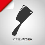 Grill icon design Royalty Free Stock Photo