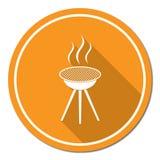 Grill ikona Fotografia Royalty Free