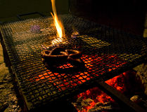 grill kiełbasa Fotografia Stock