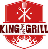 Grill King Stock Photo