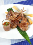 Grill lamb Stock Photography