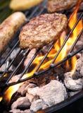 Grill-Lebensmittel Lizenzfreie Stockfotos