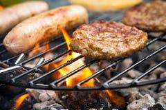 Grill-Lebensmittel Lizenzfreies Stockfoto