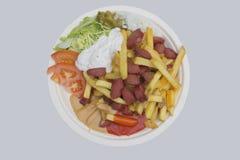 Grill-Lebensmittel Lizenzfreie Stockbilder
