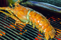 Grill lobster bbq Royalty Free Stock Photography