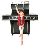 Grill Master Royalty Free Stock Image