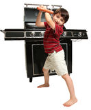 Grill Master Royalty Free Stock Photos