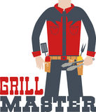 Grill Master Stock Photo
