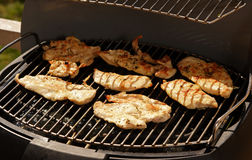 Grill meat Stock Photos