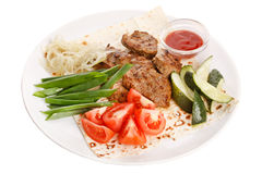 Grill meat beef steak Royalty Free Stock Photos