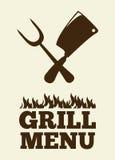 Grill menu Stock Image
