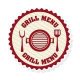 Grill menu Stock Photos