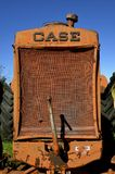 Grill of an old Case tractor Royalty Free Stock Photography