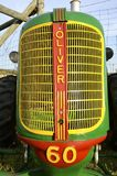 -Grill of an old restored  Oliver 60 tractor Royalty Free Stock Image
