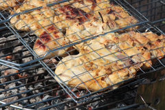 Grill outdoor Royalty Free Stock Photo