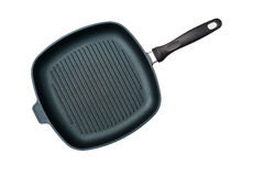 Grill Pan. A Grill Pan with Non-Stick Surface Stock Images