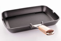Grill pan Royalty Free Stock Photos