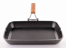 Grill pan Stock Image