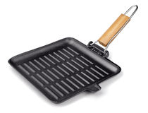 Grill pan Royalty Free Stock Image