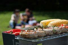 Grill party Royalty Free Stock Photos