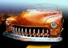 grill pomarańcze Obraz Stock