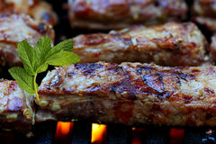 Grill Pork Ribs Royalty Free Stock Image