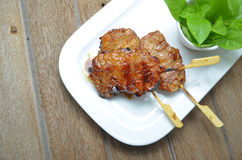 Grill pork Stock Photos