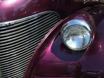 grill purpurowy Obrazy Stock