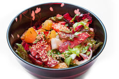 Grill salad vegetable Royalty Free Stock Images